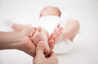 Массаж для грудничков и детей фото